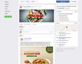 #25 for Facebook landing page for Mexican Restaurant by abuk007