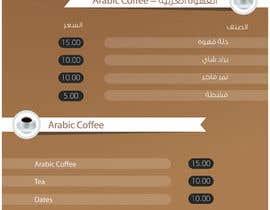#26 untuk Design a Flyer and menue for a coffee shop oleh SerMigo
