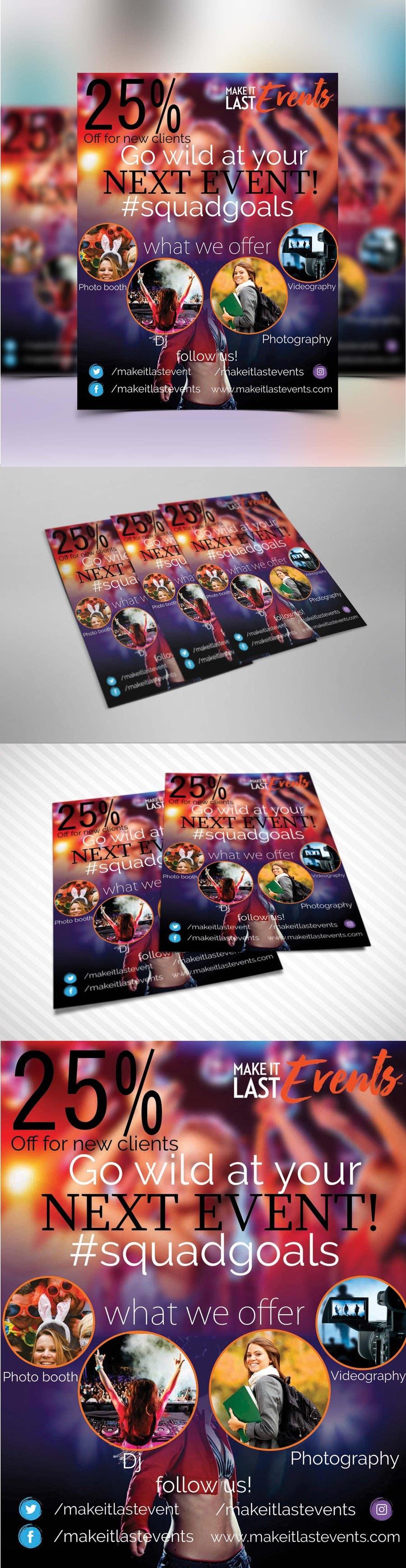 Kilpailutyö #                                        57                                      kilpailussa                                         Design a Flyer