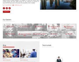 Nro 13 kilpailuun Design a Website Mock käyttäjältä antlogist