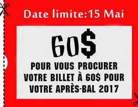 nº 18 pour Design a Facebook image / Ticket sale par Roma1611