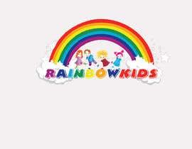 nº 67 pour Logo design for rainbowkids par evanakhanum