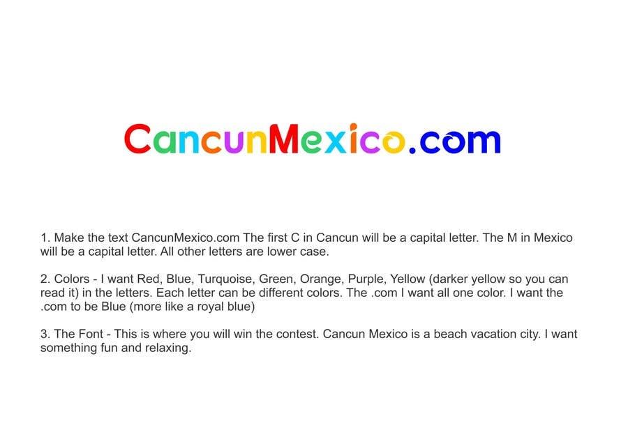 Proposition n°6 du concours Design a Logo - CancunMexico.com