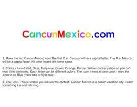 nº 6 pour Design a Logo - CancunMexico.com par lakhbirsaini20