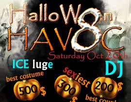 #32 cho Graphic Design for Halloween Havoc 8 bởi Natsata