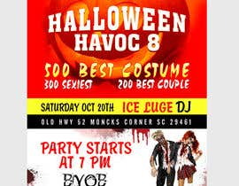 #29 untuk Graphic Design for Halloween Havoc 8 oleh pris