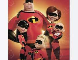 nº 14 pour Photoshop a family picture for me  - The Incredibles par TDuongVn