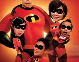 nº 5 pour Photoshop a family picture for me  - The Incredibles par gizoidinc