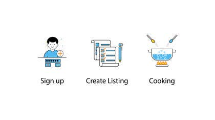 "#37 for Illustrate 3 ""How it works"" Icons by mhsarwar19"