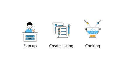 "#38 for Illustrate 3 ""How it works"" Icons by mhsarwar19"