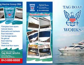 #2 untuk Graphic Design for Tag Marine Group DBA Tag Boat Works oleh solidussnake