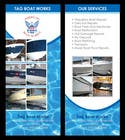 Contest Entry #9 for Graphic Design for Tag Marine Group DBA Tag Boat Works