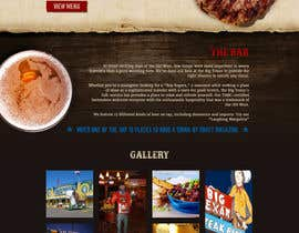 nº 62 pour Western / Rustic Style Website Design & Subpage par redundantdesigns