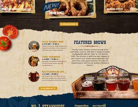 nº 86 pour Western / Rustic Style Website Design & Subpage par redundantdesigns