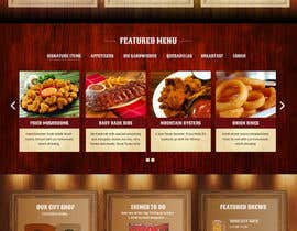 #55 for Western / Rustic Style Website Design & Subpage by seguro