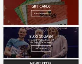nº 20 pour Design a Website Mockup par sudpixel