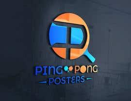 nº 132 pour Logo for posters ecommerce par zalamichentoufi