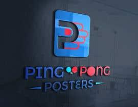 nº 161 pour Logo for posters ecommerce par zalamichentoufi