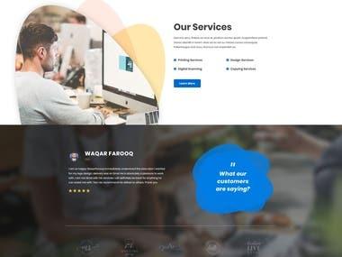 Printin services website.