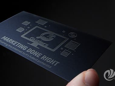 By including a quote with your own philosophy and a motto you live by, companies with your card will see what you stand for.