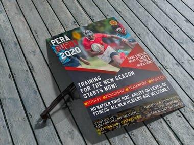 Sample flyer design