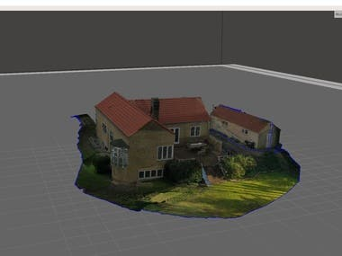 Editing a 3D model for adding new geometries or cleaning, retexturing works.