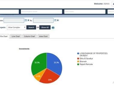 Our Solution Will Help you to Manage all Real Estate Activities. This system is useful for any size Real Estate Companies. In this system, we try to make all real estate operations computerized.  Module 1)Informative Dashboard 2)Projects Management 3)Relations(Manage  Customers, Employees, Brokers, Banks) 4)Sales 5)Purchase 6)Loans 7)Inventory Management 8)Financial 9)Communication 10)My Personal 11)Administration 12)Reports 13)Statistics  For More Information & Demo Login:-  https://aarvitechnology.com/Real-Estate-Solutions/ You can access this product by using a demo link on this Page