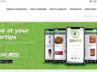 e commerce for African based in Dubai , UAE