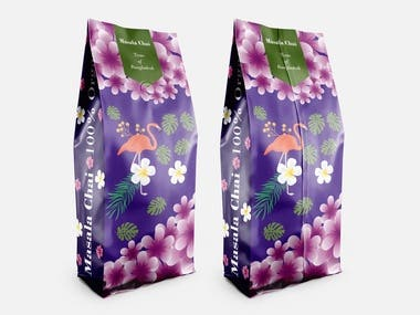 Product Packaging design vector.