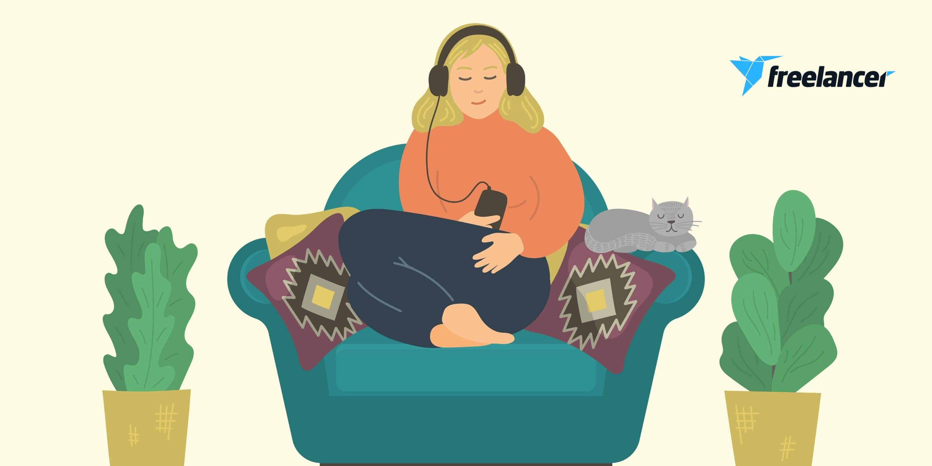 Cover photo for 4 powerful relaxation exercises for remote workers
