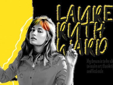 Iinterview with Lauren Ruth Ward (Life partner of LP)  Lauren Ruth Ward: My dream is to be able to continue to make art that helps people heal and feel safe