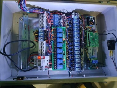 Automation of a Water Pump, water Filter and water level monitor, motor dry running and over usage protection with Rapsberry pi for home automation.