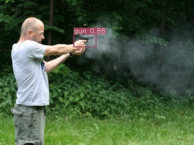 Real Time Gun Detection and Alert  System using deep learning