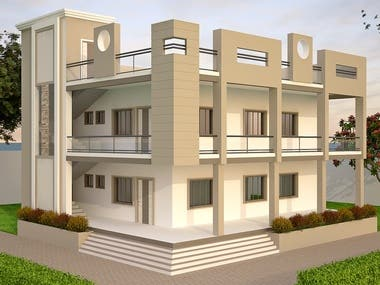 Modern Building Chief Architect, Revit, SketchUp, AutoCAD... Lumion, V-ray, ...