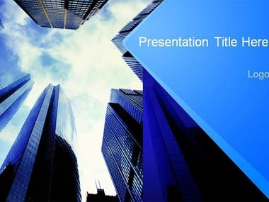 Modern style PPT