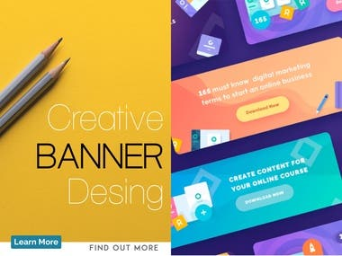 Amazing Banner Design Ideas to Impress Your Potential Clients