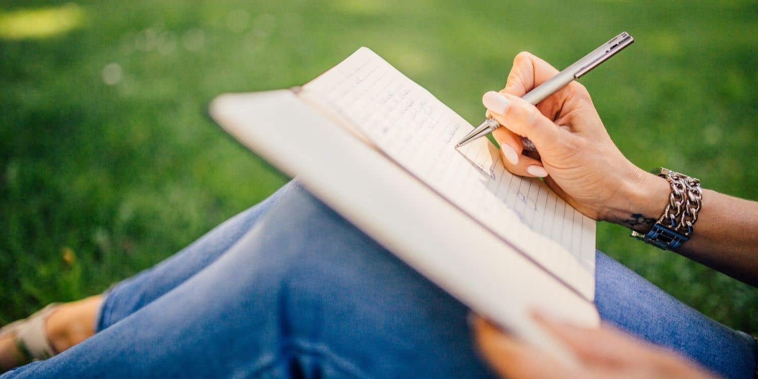 Cover photo for Stress during lockdown? Starting a diary can help