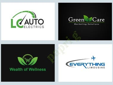 Creative and Professional Brand Logo Design