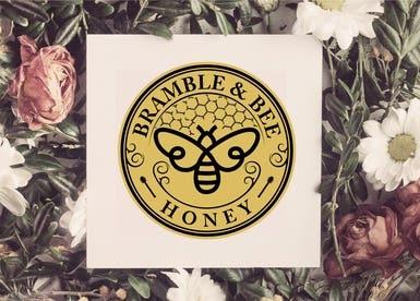 Honey Company Logo design