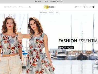 This is shopping site