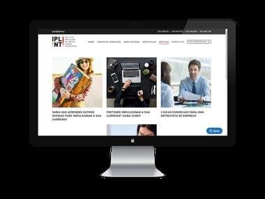- Website Content Management - Blog Articles Creation
