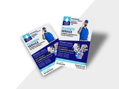 Design of Flyer and visiting Cards. Design of I-Card. Envelop Design. Receipt Design.