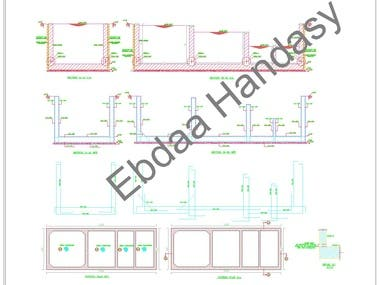 full despign of wheel truck automatic washer , structural analysis of washing tanks and platform , plumbing system , filters description and design , pumps system and sensors.