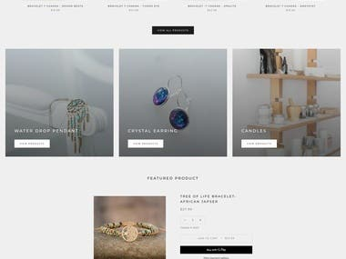 Crystal Candle is the best majestic spiritual online shop to buy natural healing stone & the place for unique gifts hence fashionable accessories. This store has made a unique customize theme with Schema Implementation.