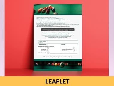 PAMPHLET/LEAFLET