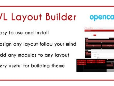VL Layout Builder is an OpenCart 3.x extension which help you can design layout, position, modules follow your mind. It is a module basically, so it is easy to install and use. And of course, VL Layout Builder is very useful for your website.