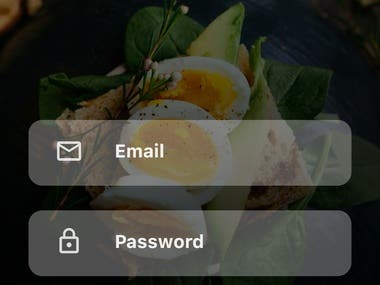 Food app works on Both IOS AND ANDROID