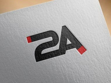 2A is  a creative logo.