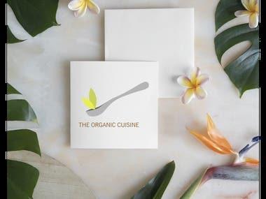 Logo Design for The organic Cuisine