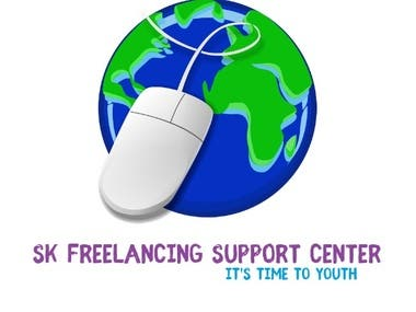 I created the logo for a freelancing support center.   The center teaches:  graphics-design web-design CPA-design and more freelancing ideas.  #So it was very hard for me to do the job for them. But I did the job well and won everyone's hearts.
